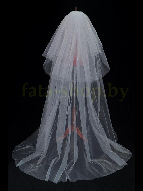 Saloon :: Свадебная фата длинная как шлейф