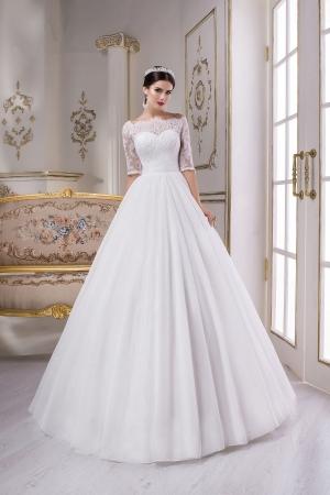 Пышное свадебное платье r1615